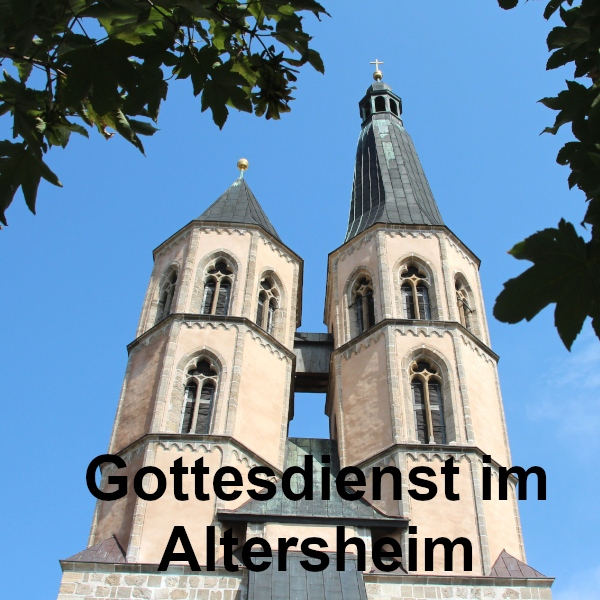 Gottesdienst im Altersheim